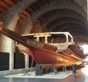 galera real Museu marítim Barcelona