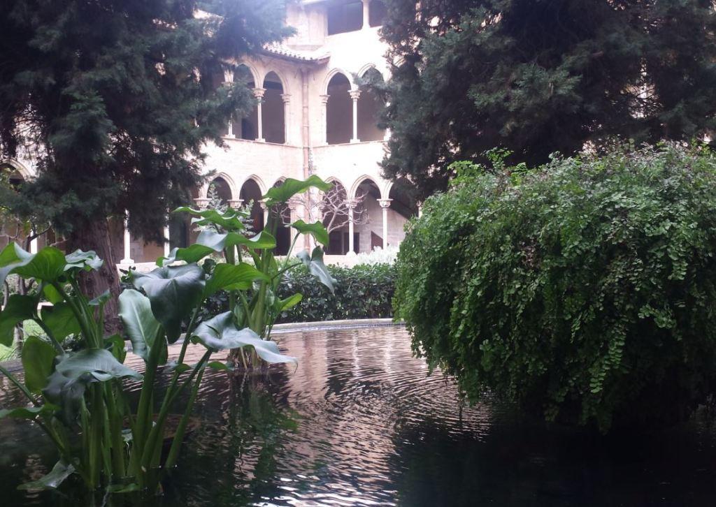 sortir amb nens al monestir de Pedralbes