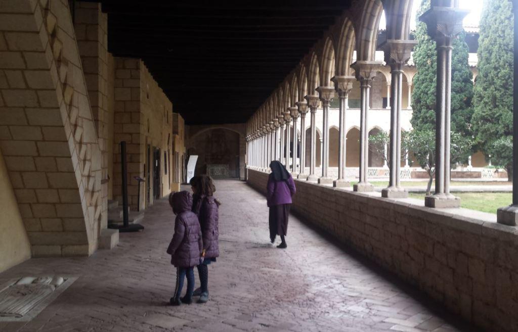 sortir amb nens monestir de pedralbes