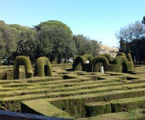 Parc del Laberint d'Horta, un recorregut per sortir amb nens